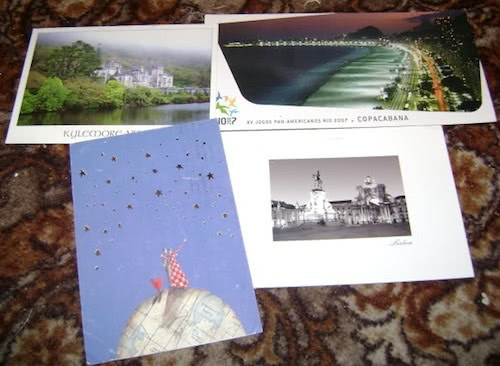Synnin favourite postcards